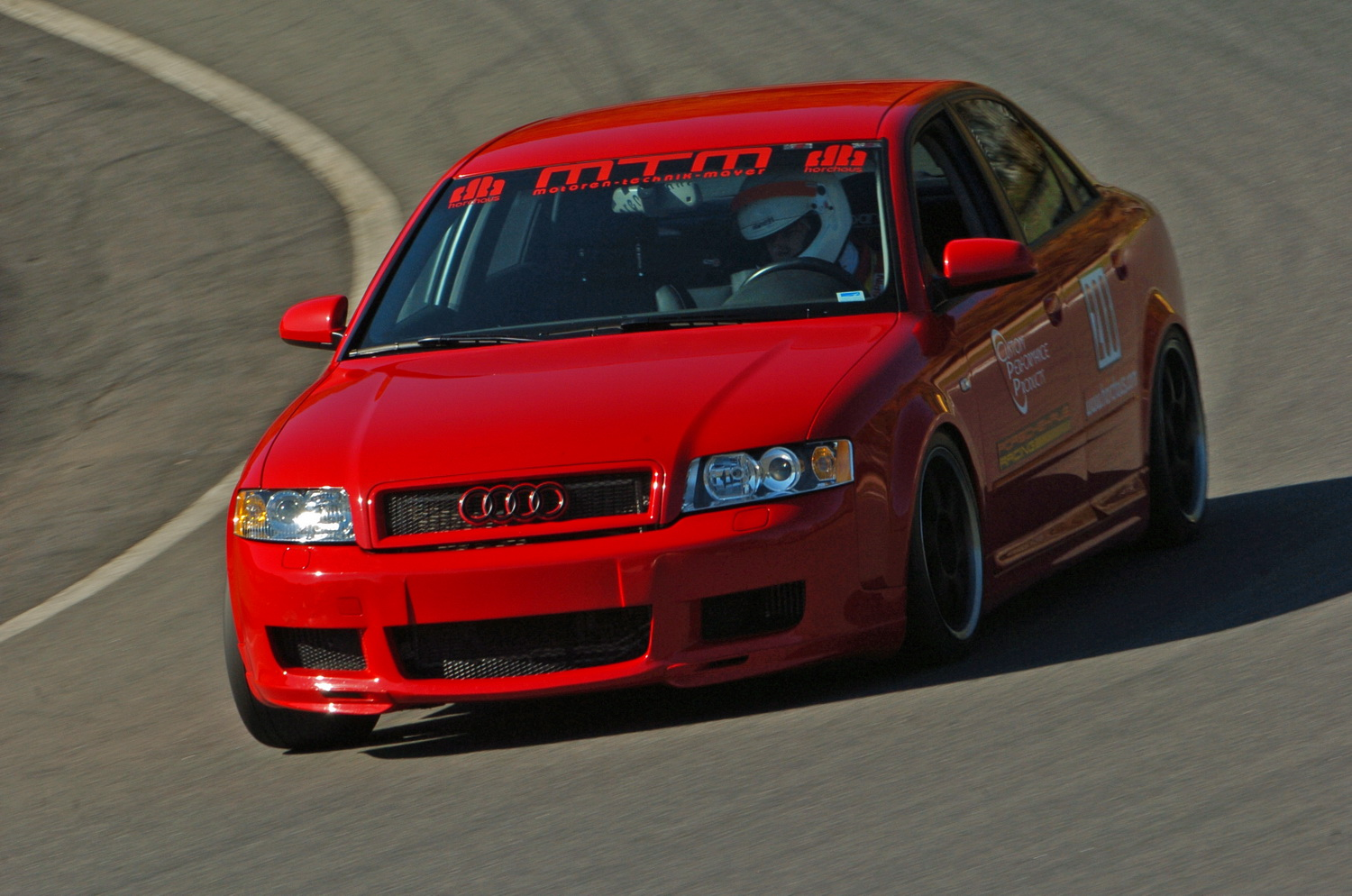 Brilliant Red 2004 Audi A4 1.8T Quattro