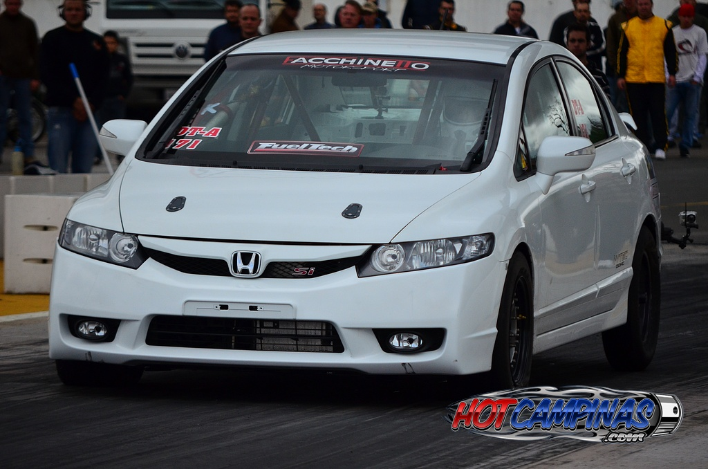 2007 Honda Civic 8th Civic SI 1/4 mile Drag Racing ...