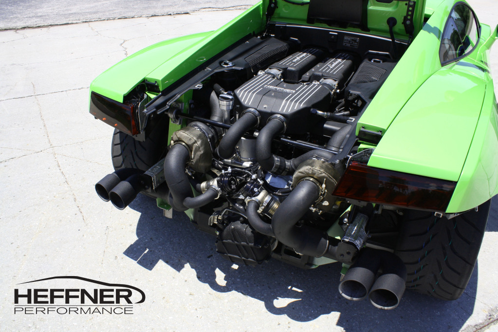 Verde Ithaca 2009 Lamborghini Gallardo LP560 Twin Turbo Heffner Bolt on Kit