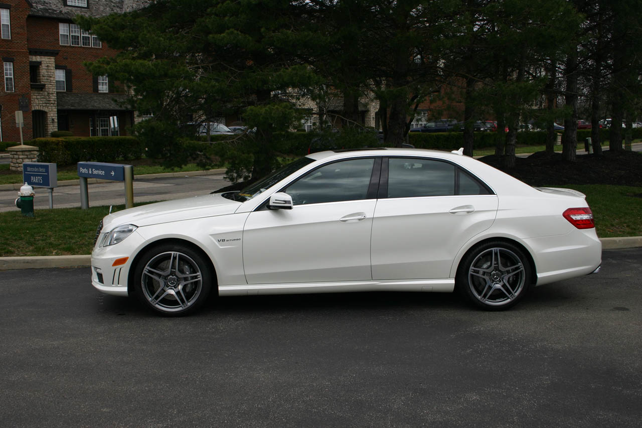 2012 Diamond White Mercedes-Benz E63 AMG MHP ECU Tune Only picture, mods, upgrades