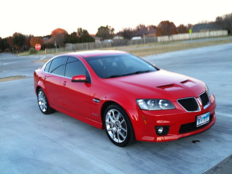 Liquid Red 2009 Pontiac G8 Gxp