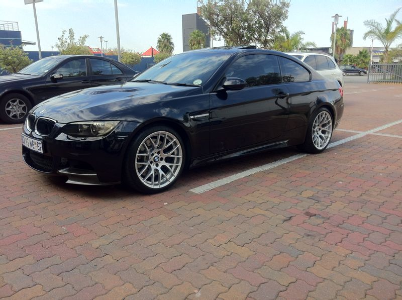Carbon Black 2012 BMW M3 E92