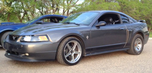 2003 Dark Shadow Grey Ford Mustang Mach 1 picture, mods, upgrades