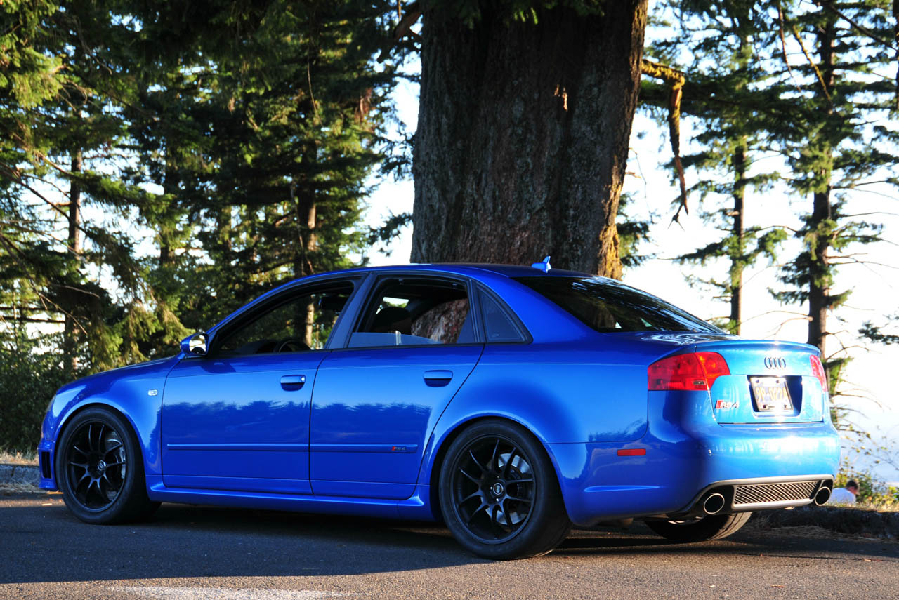 2008 Sprint Blue Audi RS-4  picture, mods, upgrades