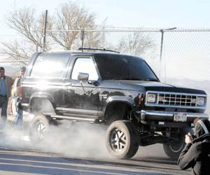 Black 1986 Ford Bronco II Eddie bauer