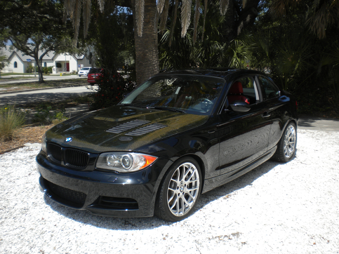 Black 2008 BMW 135i Automatic
