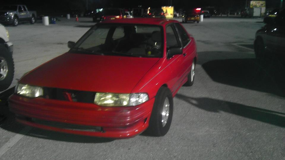 1993 red Ford Escort gt picture, mods, upgrades