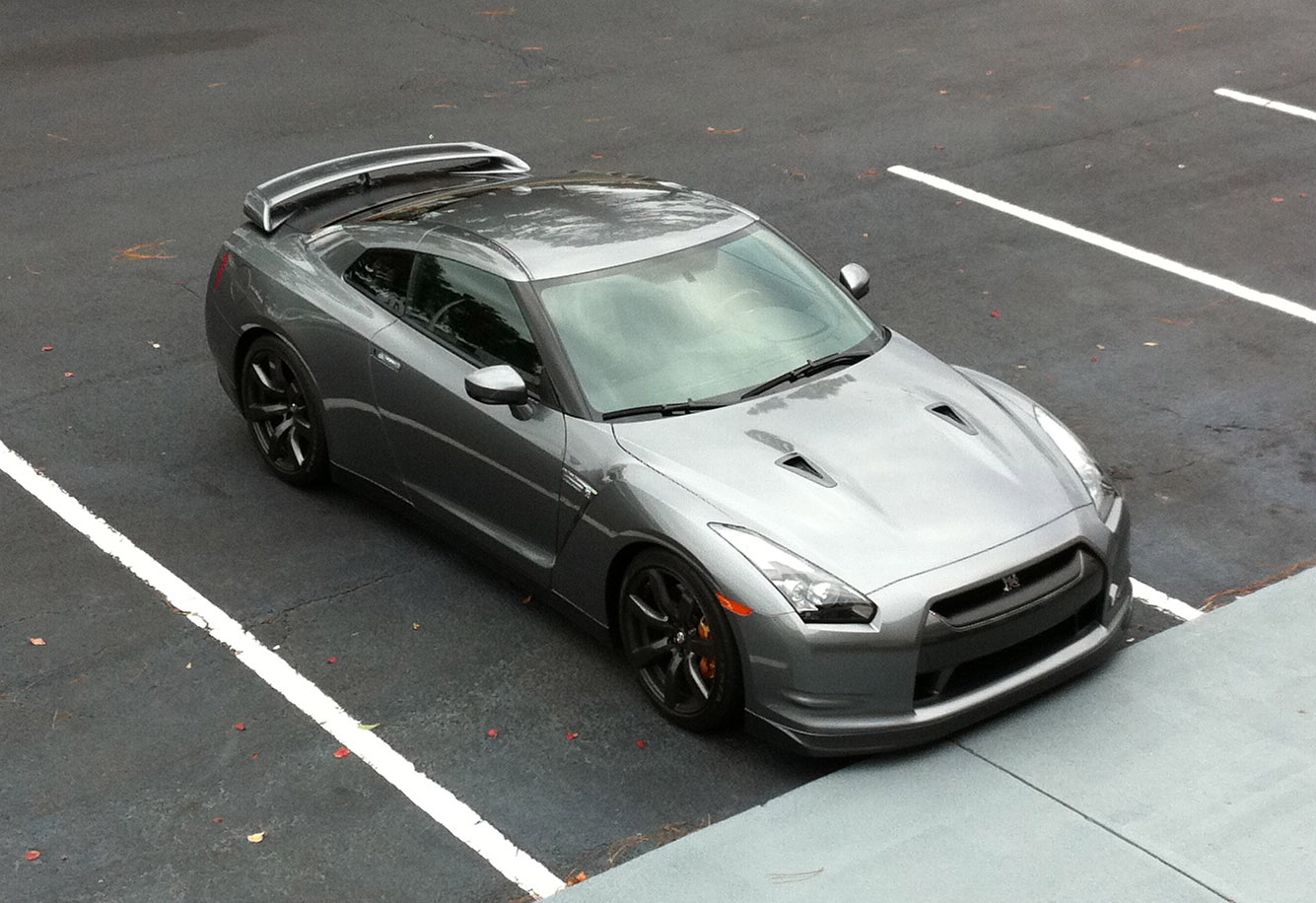2010 Grey Nissan GT-R  picture, mods, upgrades