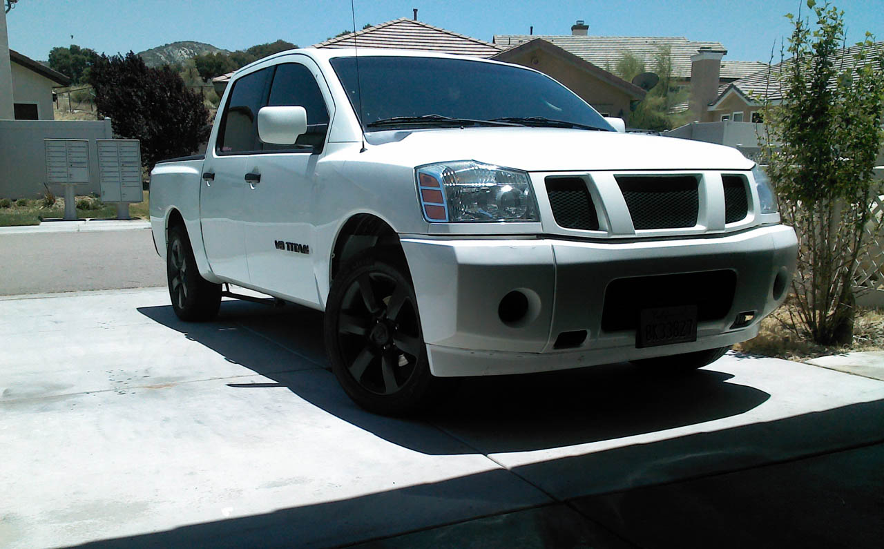 2007 White Nissan Titan Xe Pictures Mods Upgrades Wallpaper Dragtimes Com