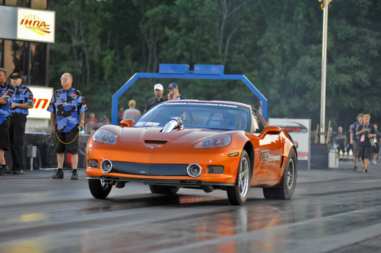 Atomic Orange 2007 Chevrolet Corvette Carlyle Racing 106mm Turbo