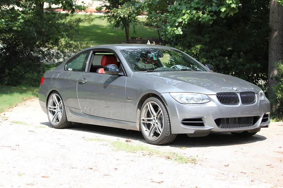 2011 Space Gray BMW 335i 335IS picture, mods, upgrades