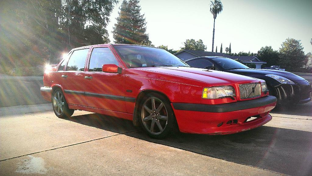 1996 Red Volvo 850 T-5R Sedan picture, mods, upgrades