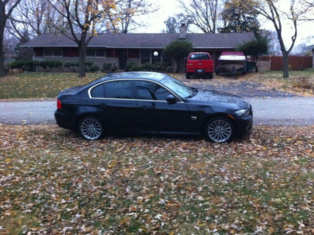 2009 Saphire black metalic BMW 335xi  picture, mods, upgrades