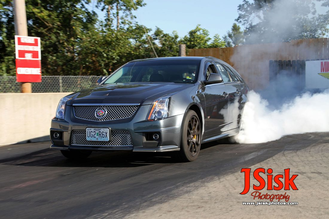 2011 Thunder Grey Metalic Cadillac CTS-V Wagon picture, mods, upgrades