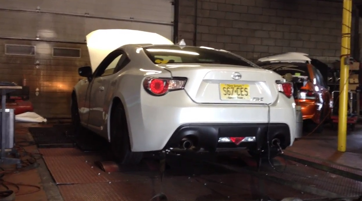 2013 Scion FR-S Headers and STG1 Flash Tune