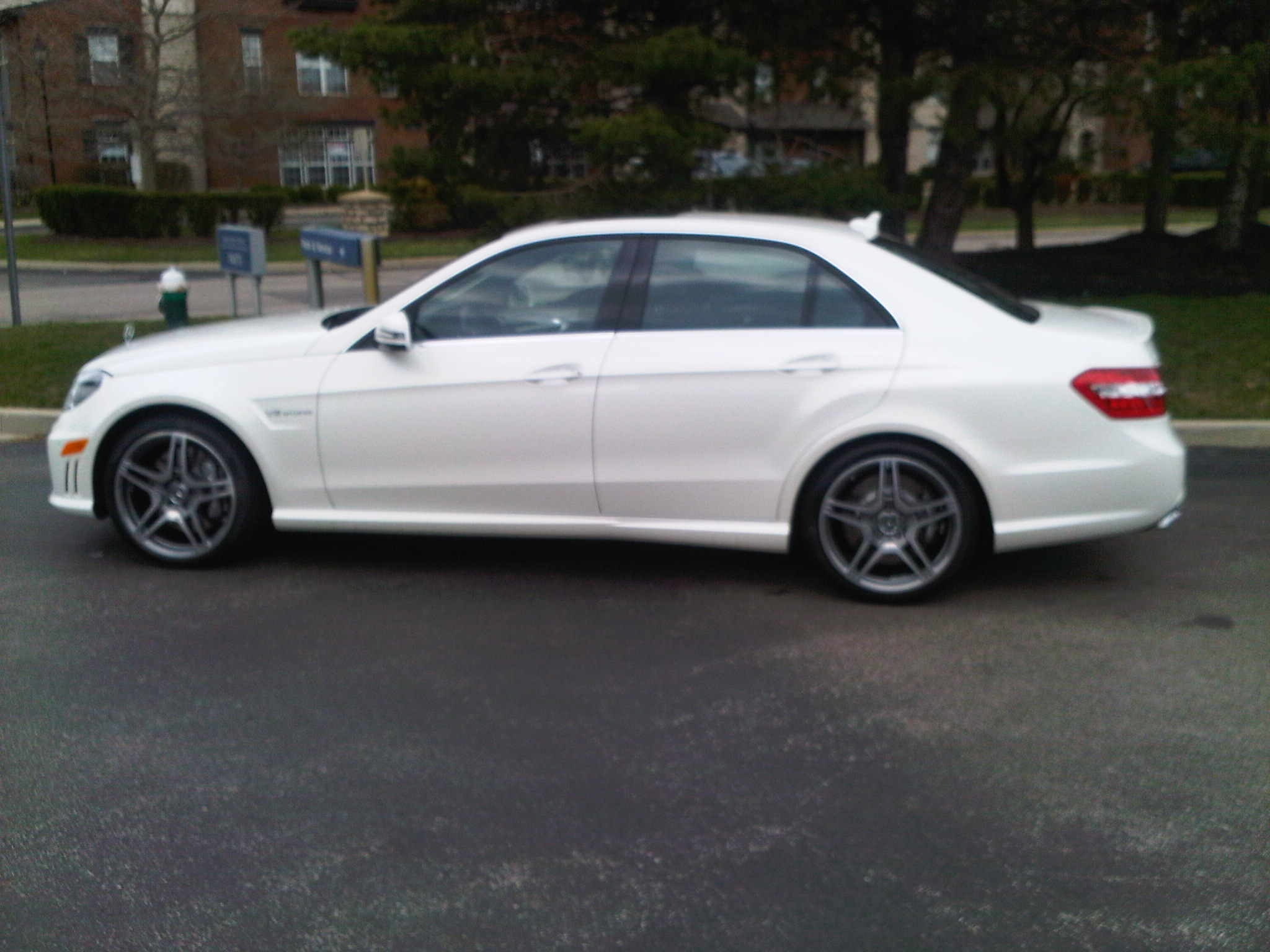 2012 Diamond White Mercedes-Benz E63 AMG BiTurbo MHP S2 picture, mods, upgrades