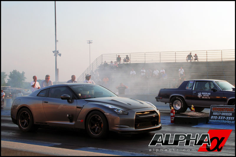 2009 Gunmetal Grey Nissan GT-R ALPHA 12 - Tim sanders picture, mods, upgrades