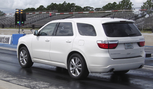 White 2012 Dodge Durango R/T