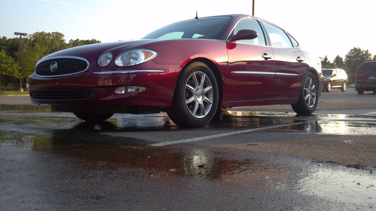 red 2005 Buick LaCrosse cxs