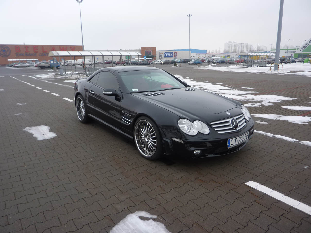 2003  Mercedes-Benz SL55 AMG  picture, mods, upgrades