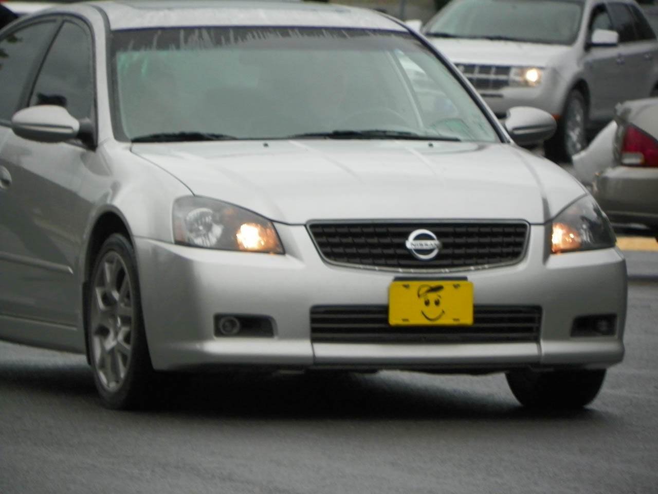 2006 Silver Nissan Altima SE-R picture, mods, upgrades