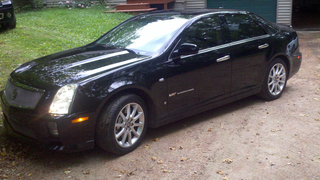 2006 Black Cadillac STS-V  picture, mods, upgrades
