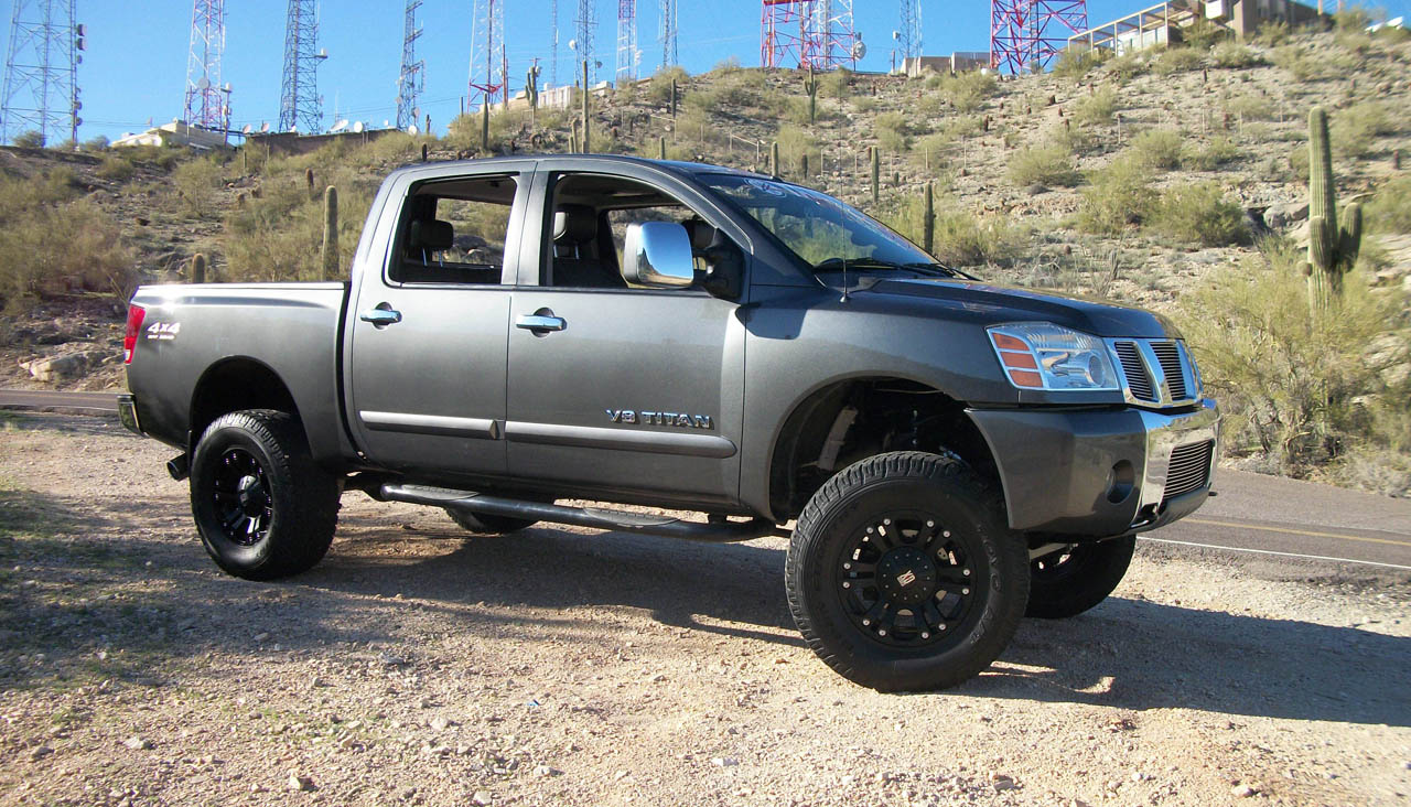 2006 Gray Nissan Titan Cc Le Big Tow Offroad Package Pictures Mods Upgrades Wallpaper Dragtimes Com