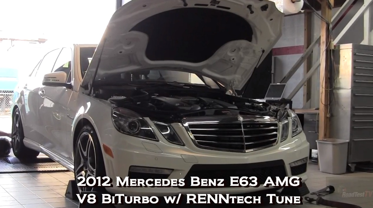 2012  Mercedes-Benz E63 AMG BiTurbo RENNtech picture, mods, upgrades