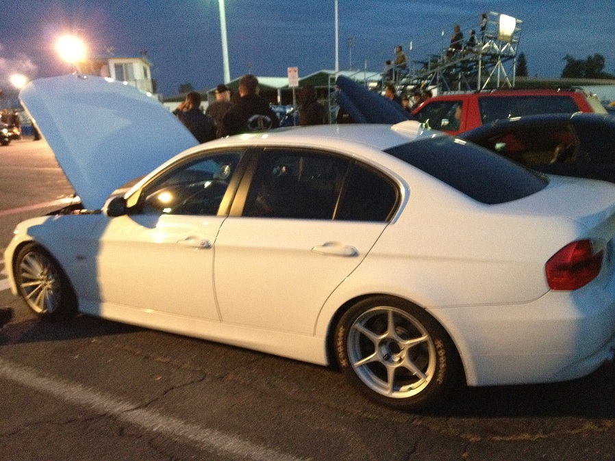 Alpine White 2008 BMW 335i Vishnu Procede Rev 3 Flex Fuel