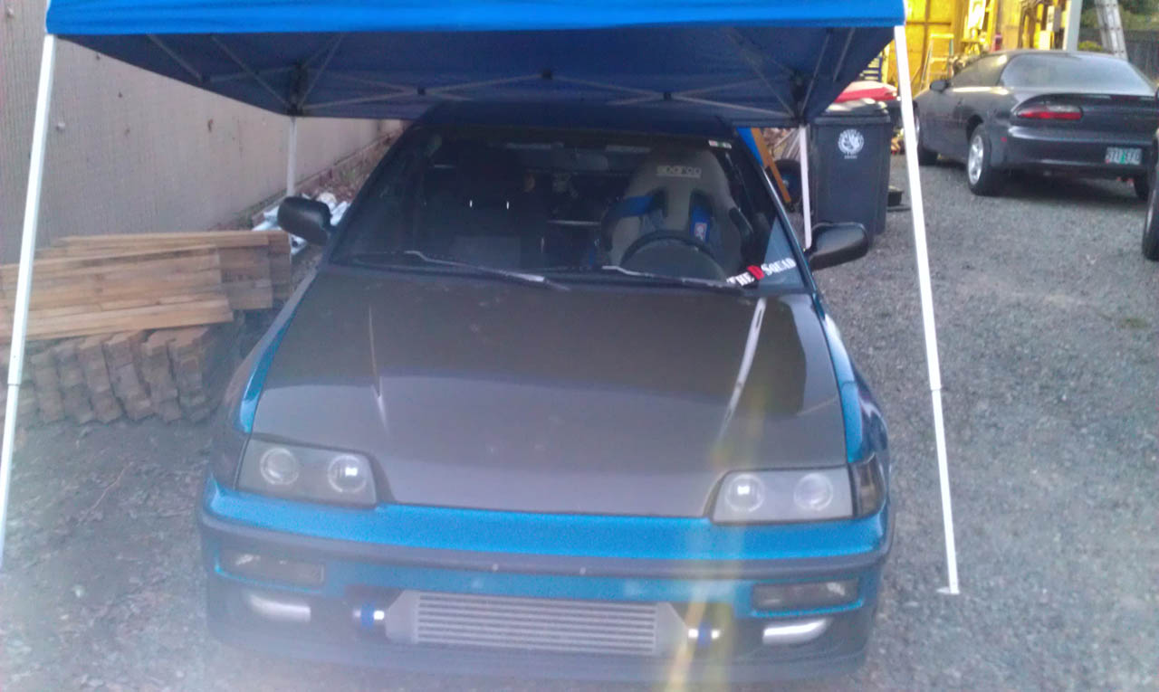 1991  Honda Civic CRX dx picture, mods, upgrades