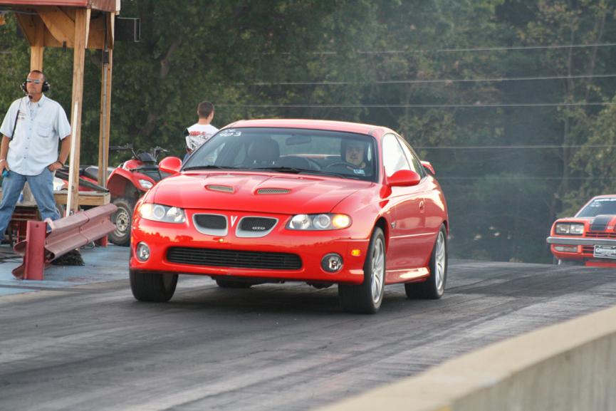 Torrid Red 2004 Pontiac Gto
