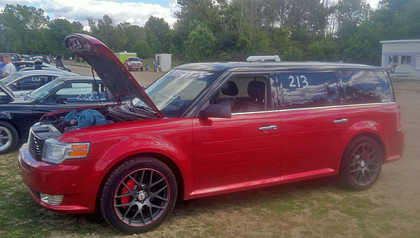 Red Candy 2011 Ford Flex EcoBoost Limited