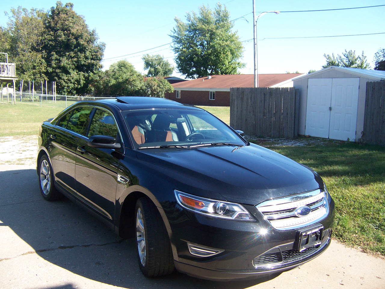 Black 2010 Ford Taurus SHO