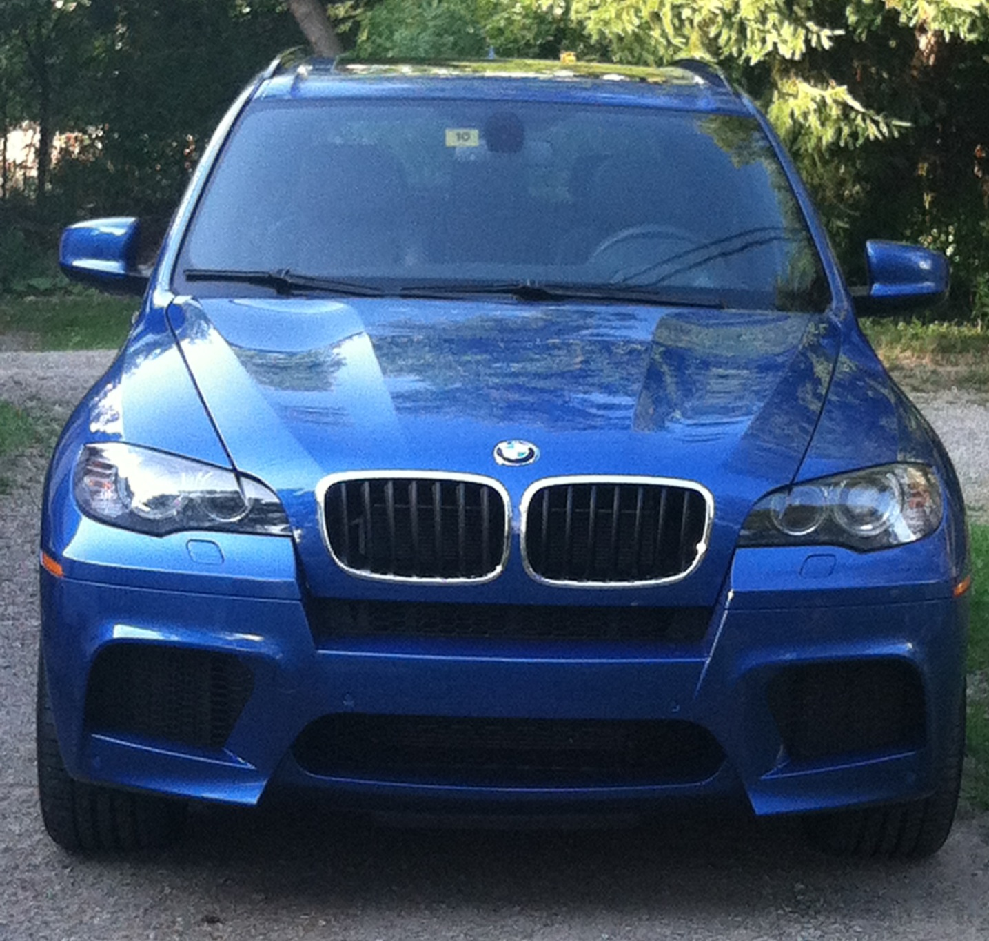 Stock 2010 BMW X5 M 1/4 mile Drag Racing timeslip specs 0-60 ...