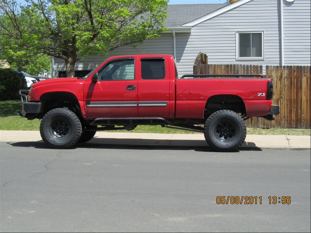 Victory Red 2007 Chevrolet CK1500 Truck LS