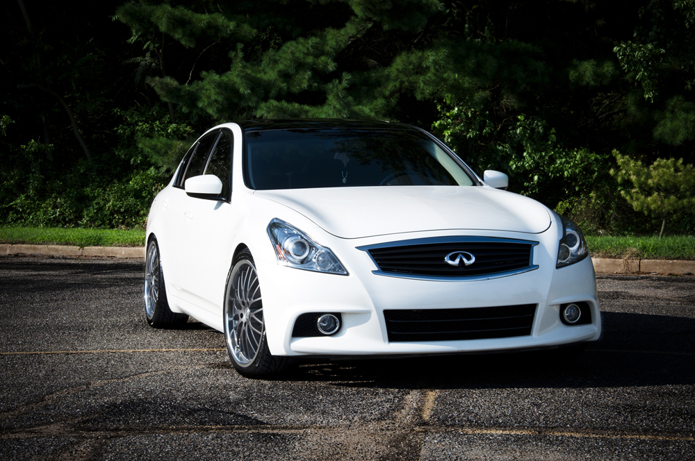 2012 White Infiniti G37 AWD Sedan picture, mods, upgrades