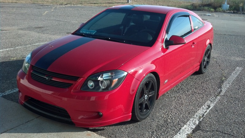 2006 Victory Red Chevrolet Cobalt SS/SC picture, mods, upgrades