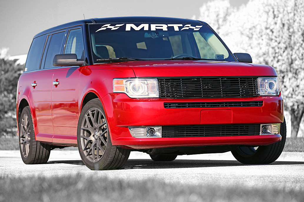 Red Candy 2011 Ford Flex EcoBoost Limited Livernois Stage 5 Tune