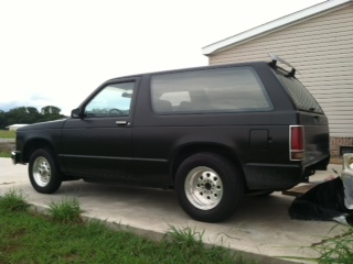 1985  Chevrolet S10 Blazer  picture, mods, upgrades