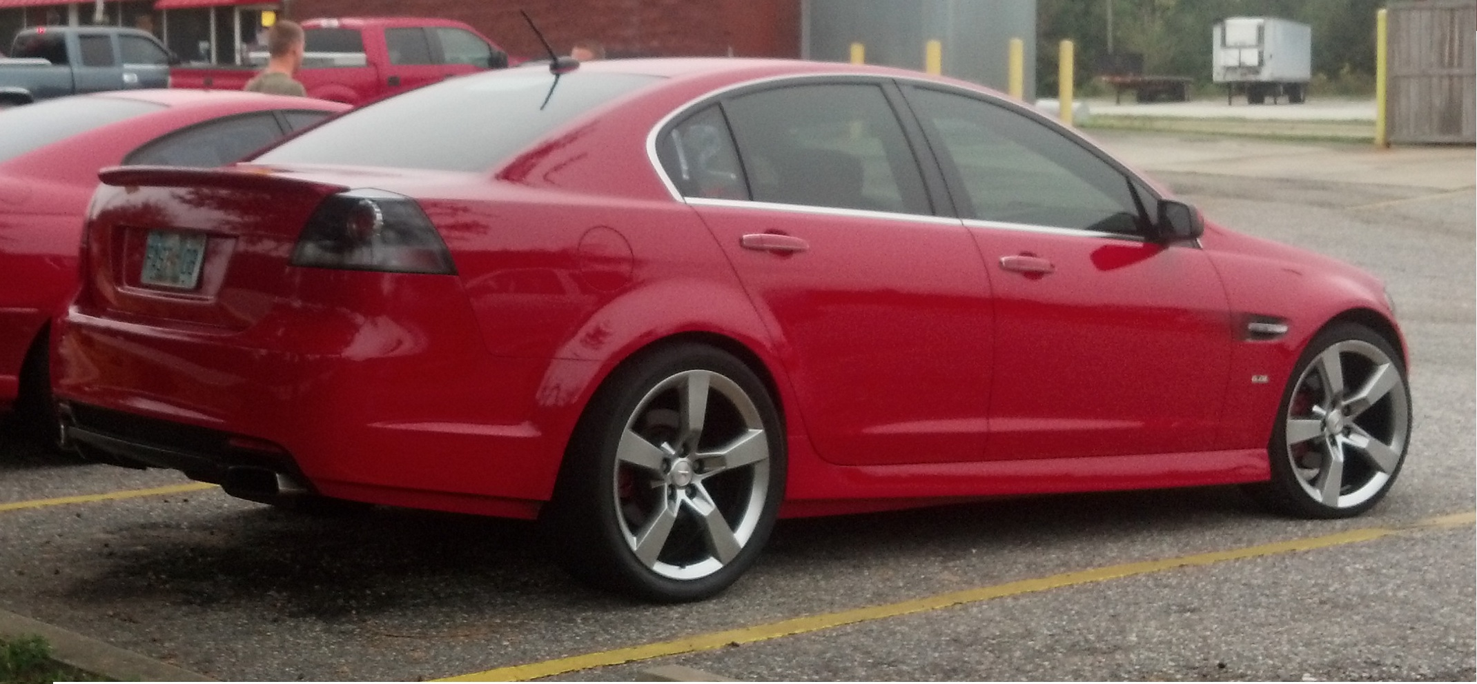 Red 2009 Pontiac G8 Gt