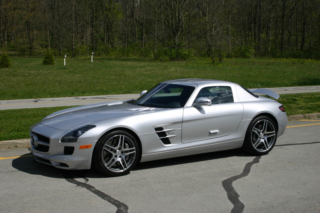 2012 Silver Mercedes-Benz SLS AMG MHP S2 picture, mods, upgrades
