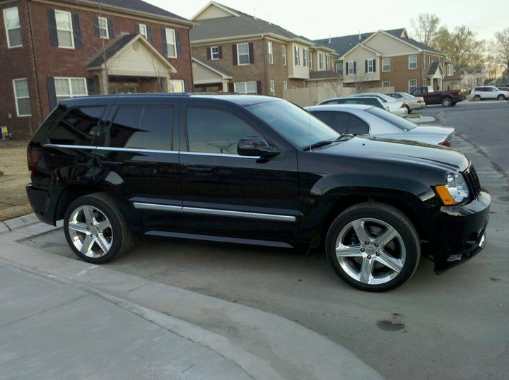 2008 Black Jeep Cherokee SRT8  picture, mods, upgrades