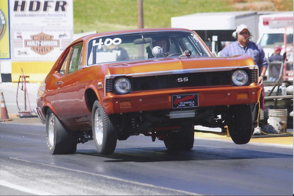 1971 atomic orange Chevrolet Nova SS picture, mods, upgrades