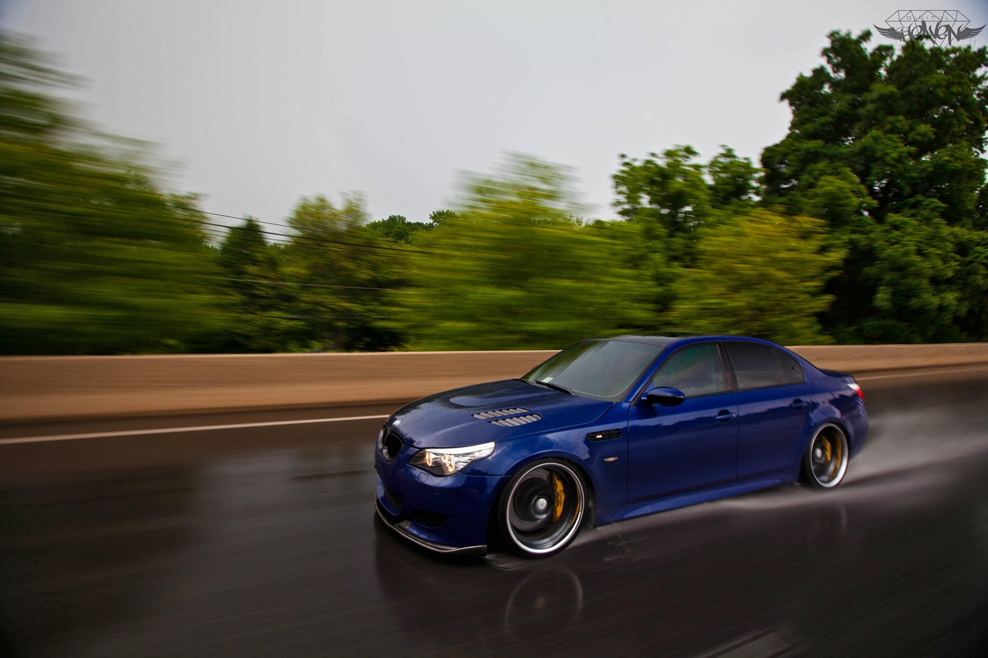 Interlagos blue 2006 BMW M5 E60