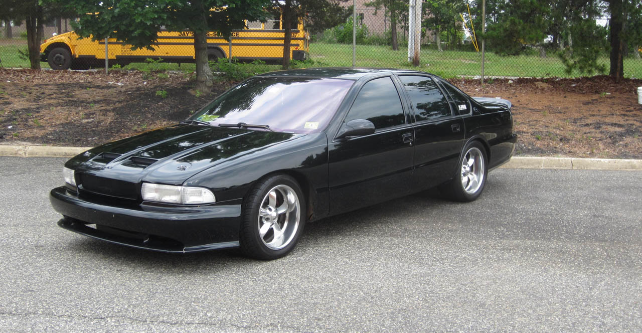 1996 Black Chevrolet Impala SS picture, mods, upgrades