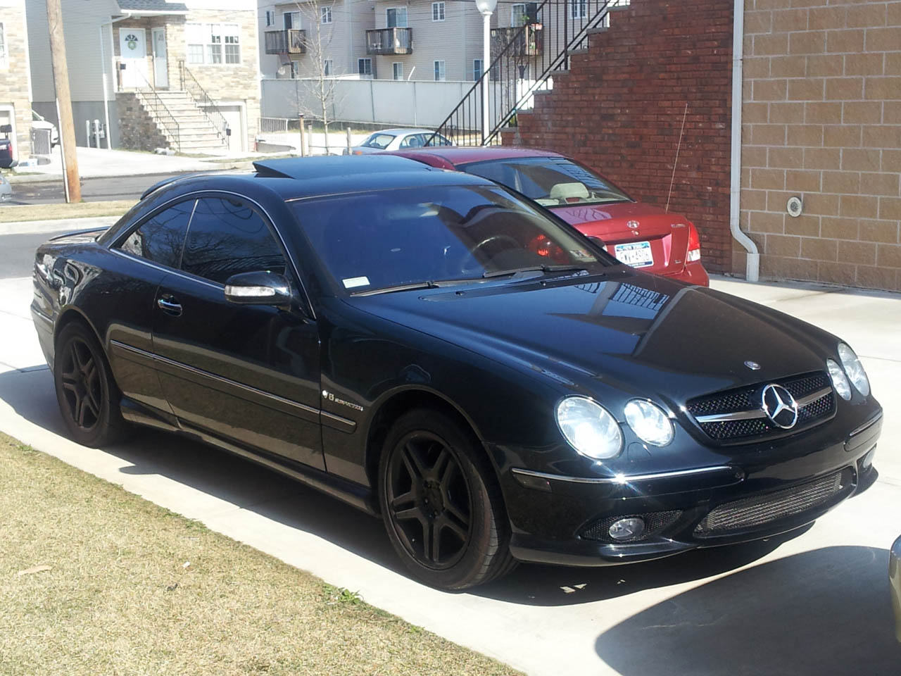 2003  Mercedes-Benz CL55 AMG  picture, mods, upgrades