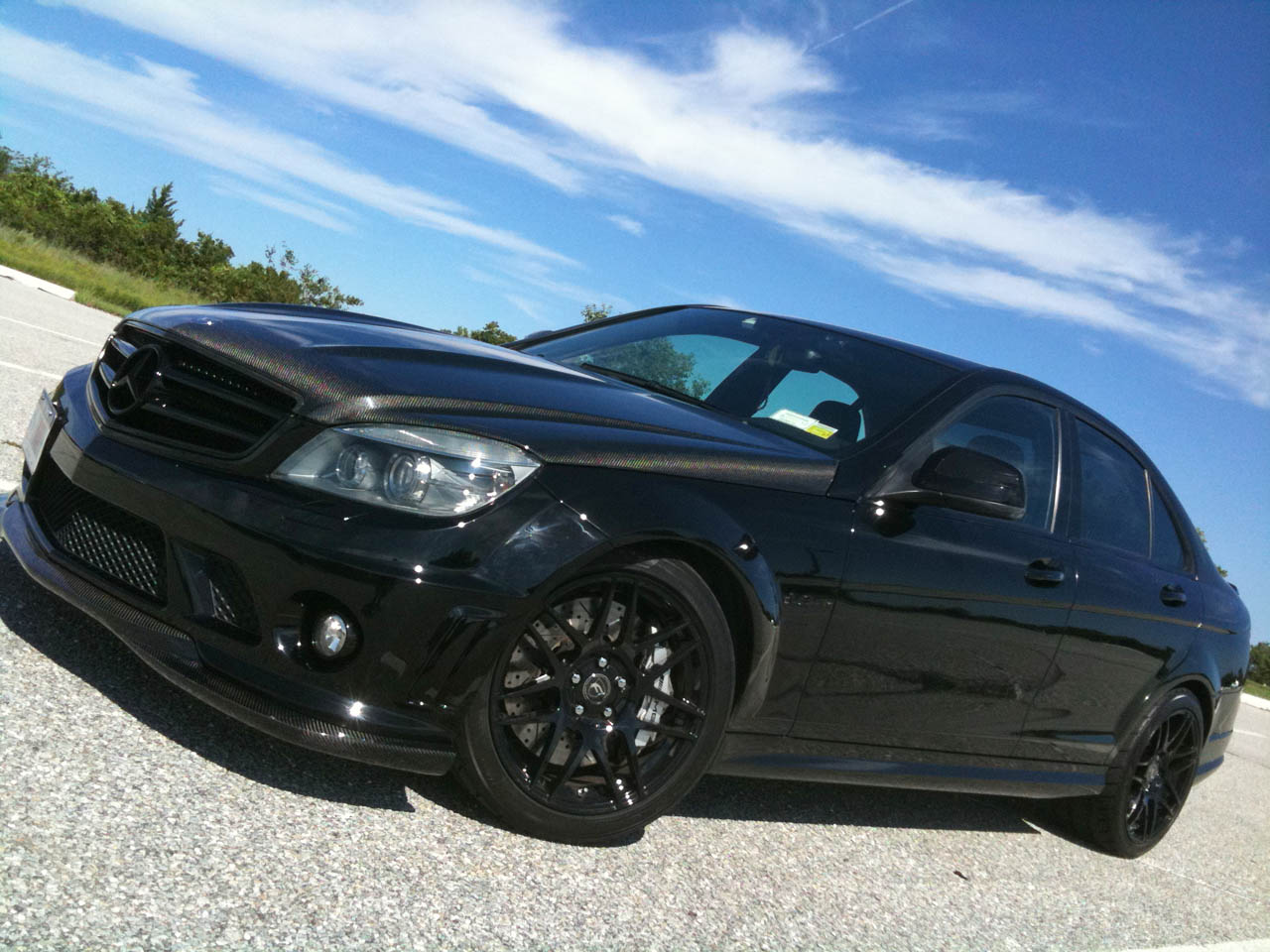 2008 Black  Mercedes-Benz C63 AMG AMG  picture, mods, upgrades