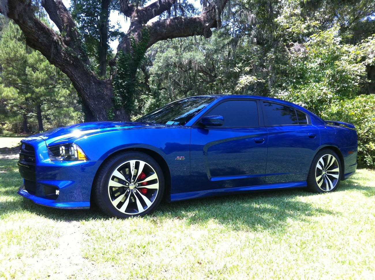 Blue Streak Pearl 2012 Dodge Charger SRT8