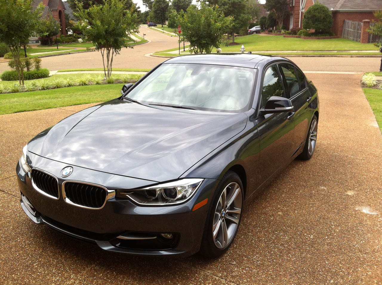Mineral Grey Metallic 2012 BMW 335i