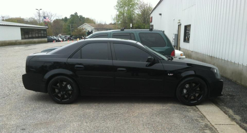 2005 Black Cadillac CTS-V  picture, mods, upgrades